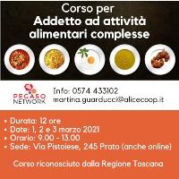 H.A.C.C.P. - Corso per Addetto attività alimentari complesse